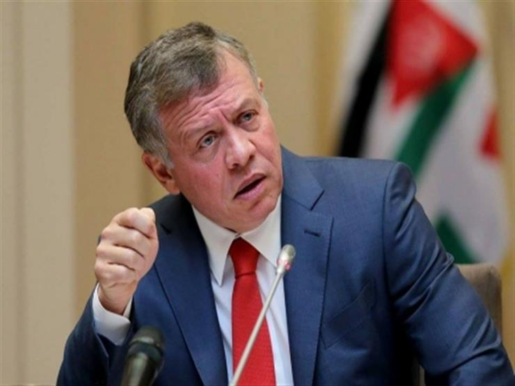 العاهل الأردنى يبحث مع وزير الخارجية الأمريكي العلاقات الثنائية