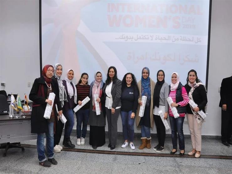 """""""القومي للمرأة"""" يشارك في احتفال شركات السويسي للأسمنت باليوم العالمي للمرأة"""