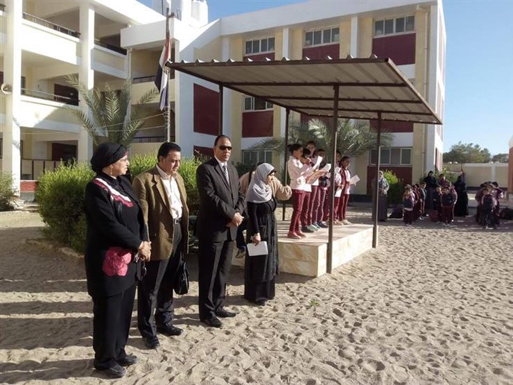 """وكيل """"تعليم جنوب سيناء"""" يتابع سير المنظومة الجديدة بإدارة الطور"""