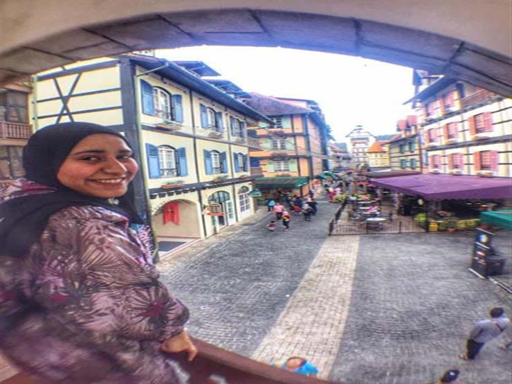 زارت 18 دولة حول العالم.. رحلة ريهام من الثانوية العامة لماليزيا