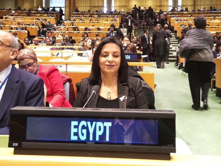 مايا مرسي تشيد باحتفاء الخارجية بيوم المرأة المصرية