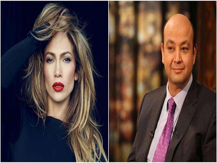 """بالفيديو- عمرو أديب يعلق على خاتم خطبة جنيفر لوبيز: """"الفص عامل زي الزلومة"""""""
