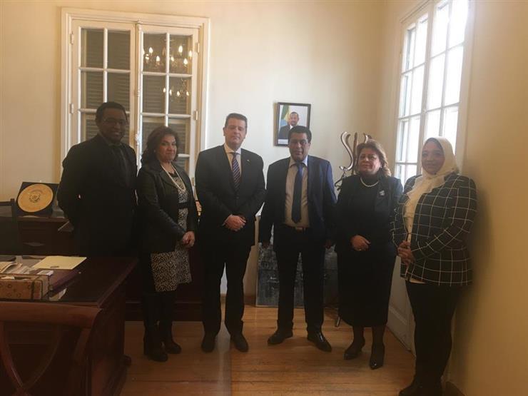 وفد برلماني يزور سفارتي إثيوبيا وكينيا لتقديم واجب العزاء في حادثة الطائرة