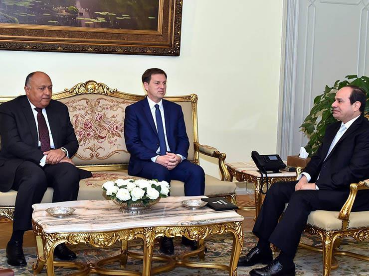السيسي يؤكد حرص مصر على تعزيز التعاون مع سلوفينيا