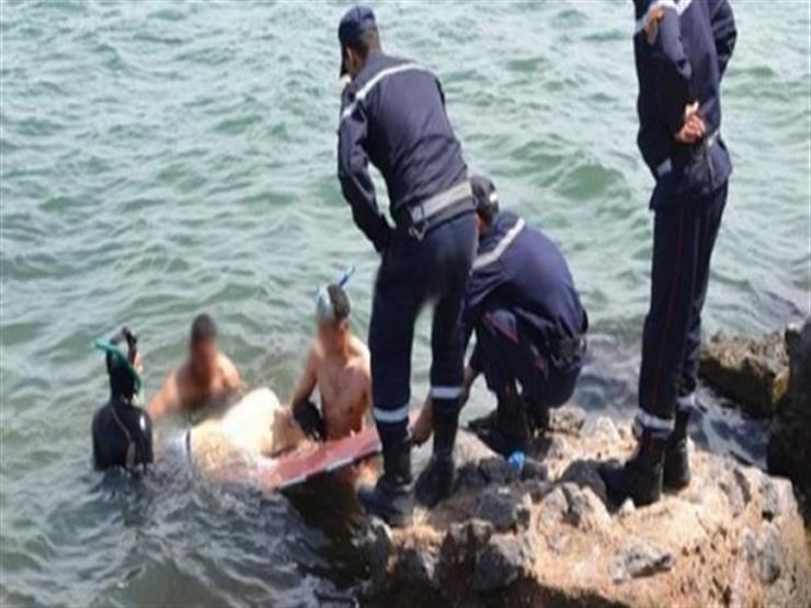 انتشال جثة شاب غرق في نهر النيل بالوراق