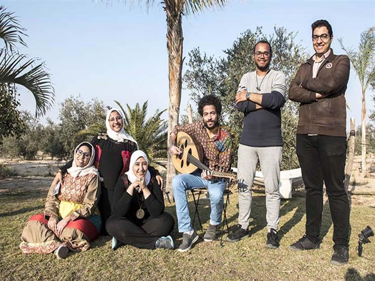 """بالصور- في """"قعدة غنا"""".. الاحتفال بنساء مصر بطريقة مبتكرة"""