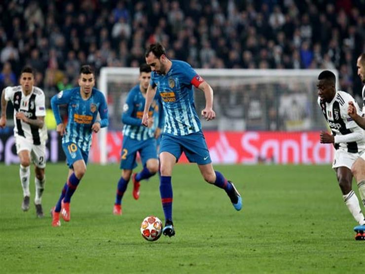 قائد أتلتيكو مدريد: لم نجد وسيلة للتغلب على يوفنتوس