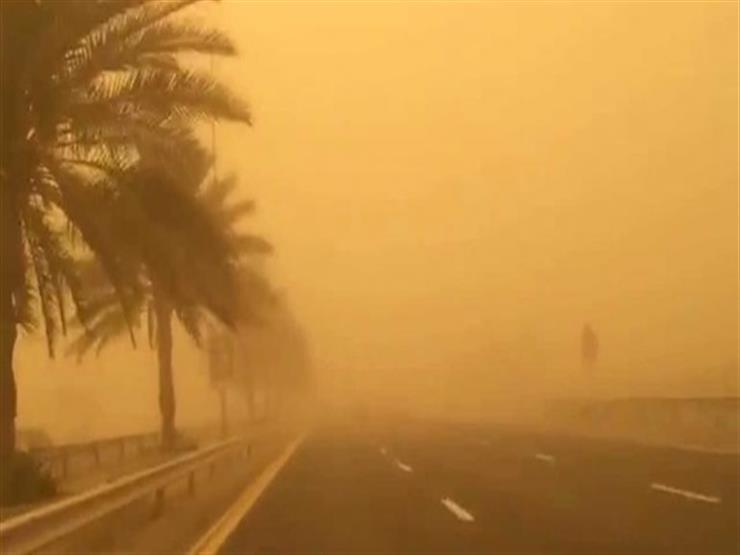 طوارئ بجنوب سيناء بسبب العاصفة الرملية (صور)