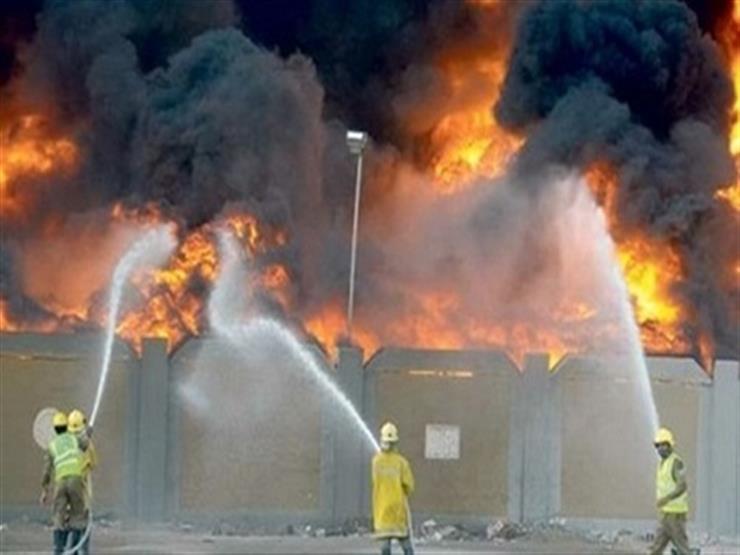 المعاينة: 40 مليون جنيه خسائر حريق مصنع زيوت في أكتوبر