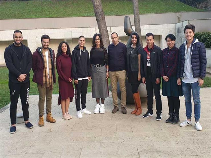الأكاديمية المصرية للفنون بروما تستقبل الفائزين بجائزة الدولة للإبداع الفني