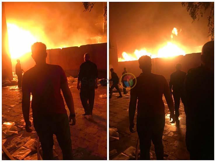 """""""النيران 10 أمتار يا افندم"""".. جحيم الـ3 ساعات في حريق """"مصنع أكتوبر"""" - فيديو"""