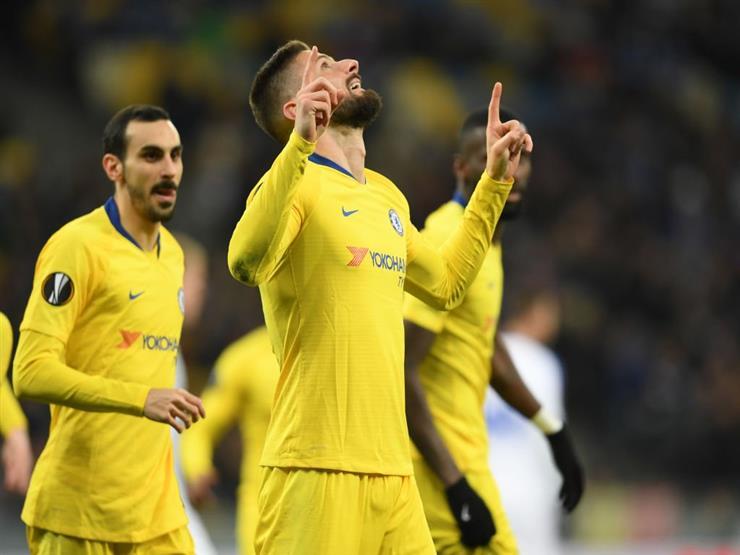 أهداف اليوم.. ثلاثية أرسنال وخماسية تشيلسي في الدوري الأوروبي