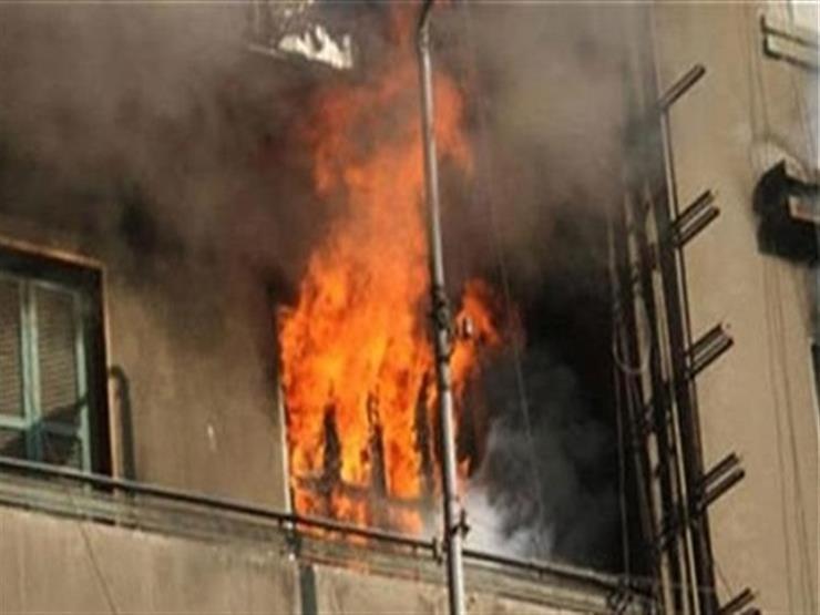 بالصور.. حريق يلتهم محتويات شقة سكنية في الدقهلية