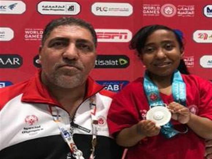 أهلة سيد تُحقق أول ميدالية لمصر في الأوليمبياد الخاص