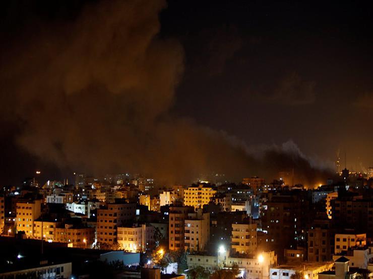 جيش الاحتلال الإسرائيلي يشن غارات جوية على قطاع غزة