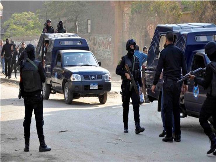 إصابة تاجر مخدرات خلال مطاردة مع الشرطة في سوهاج