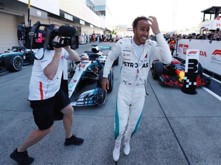 للموسم السادس.. هاميلتون ينطلق من المركز الأول في فورمولا-1 الاسترالي