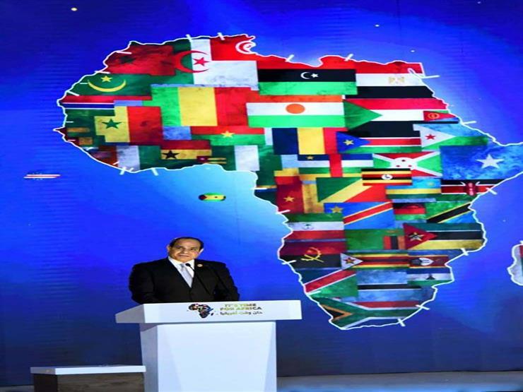ننشر نص كلمة السيسي بافتتاح ملتقى الشباب العربي الأفريقي