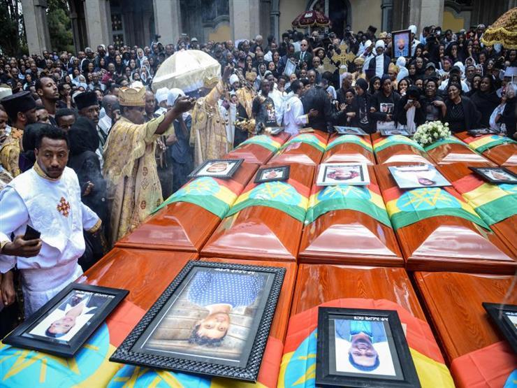الآلاف يشاركون في تأبين ضحايا الطائرة الإثيوبية في أديس أبابا