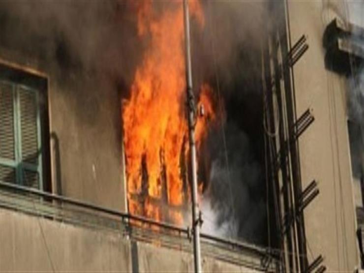 """""""الأهالي أنقذوهم من الموت"""".. 5 مصابين من أسرة واحدة بحريق غرفة بفيصل"""