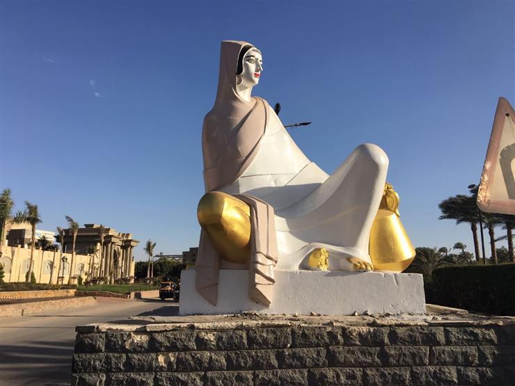 """أول تحرك من """"التنسيق الحضاري"""" لإصلاح تشويه تمثال الفلاحة المصرية"""
