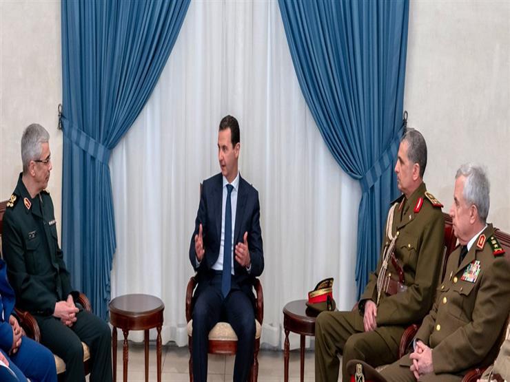 الأسد يستقبل عسكريين من العراق وإيران: دماء امتزجت في مواجهة الإرهاب