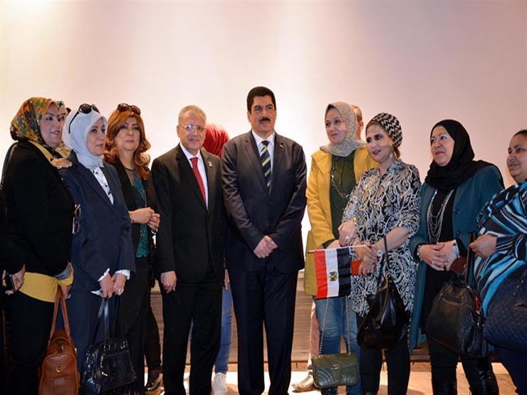 محافظ القليوبية يشارك في احتفالية المرأة المصرية