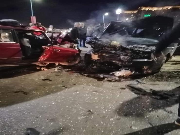 بينهم نائب برلماني.. إصابة 7 أشخاص في تصادم 3 سيارات بأسيوط