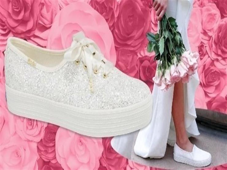 """للعرائس- حذاء جديد"""" كوتشي""""  في عالم الموضة"""