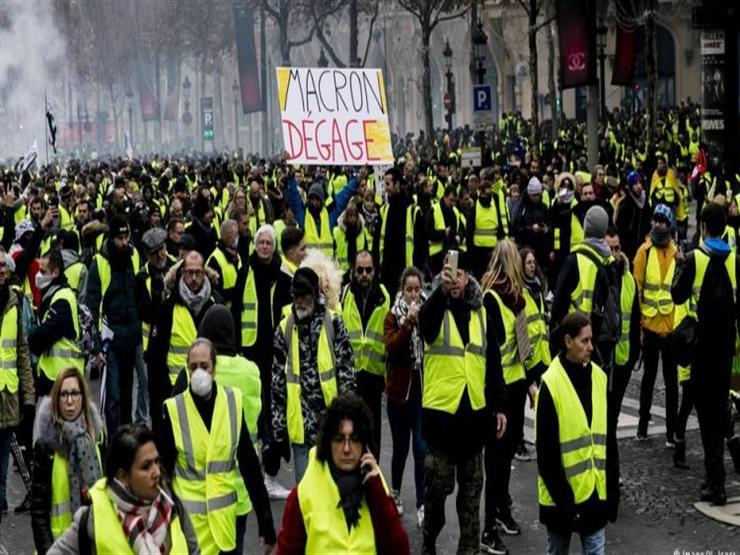 """""""السترات الصفراء"""" يتظاهرون للمرة الـ21 قبل عرض خلاصة """"النقاش الكبير"""""""