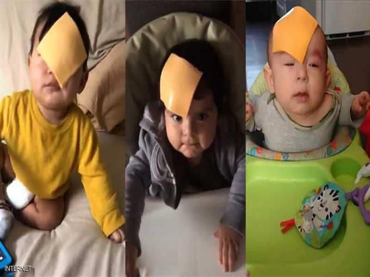 رمي شرائح الجبنة على وجوه الأطفال.. آخر التحديات الجنونية