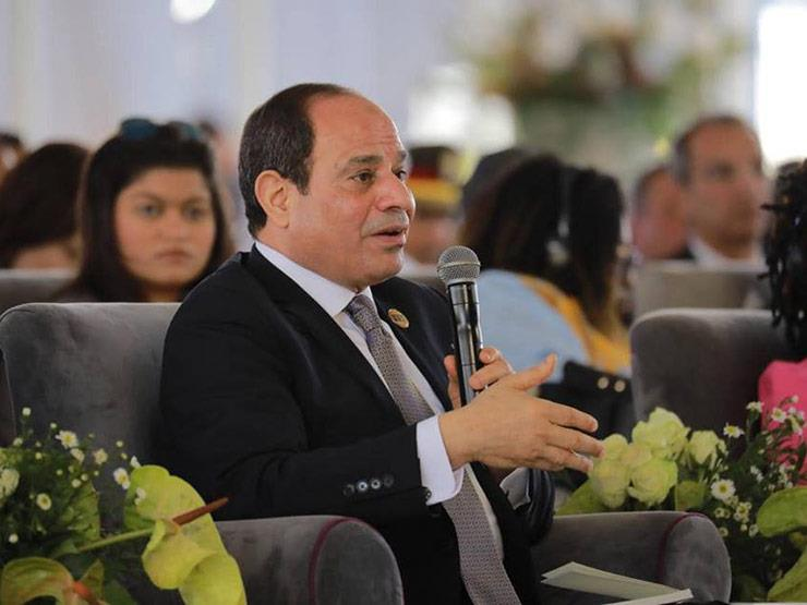 السيسي يؤكد دعم مصر لموريتانيا في مواجهة الإرهاب