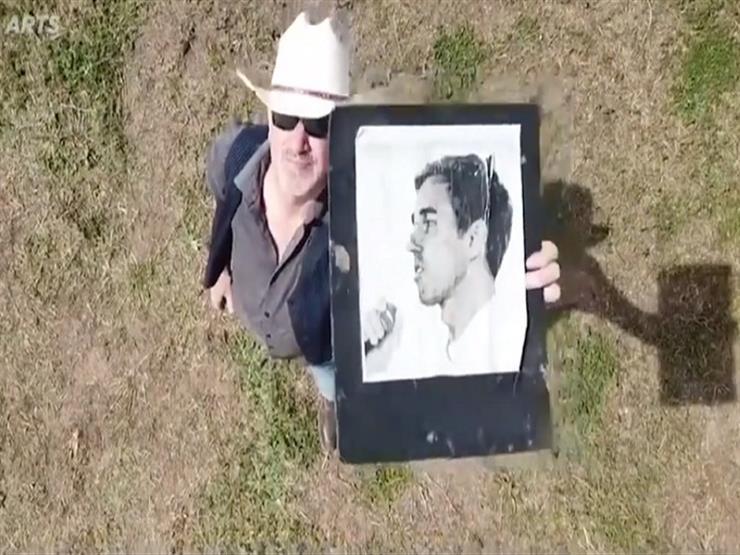 لوحة مرشح رئاسي أمريكي بمساحة ملعب كرة قدم (فيديو)