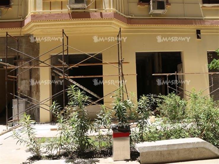 ترميم عمارات منطقة اللبانة الآيلة للسقوط في بورسعيد