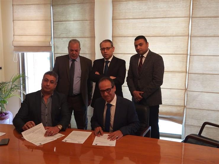 """""""الثقافة"""" تُطور فرع هيئة الكتاب فى بيروت بالتعاون مع شركة المقاولين العرب"""