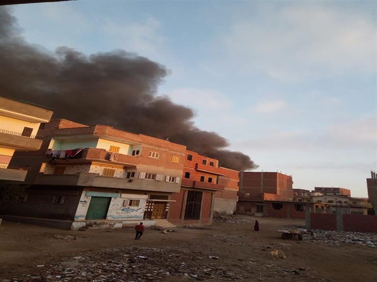 السيطرة على حريق في شونة لتجميع الأقطان بالشرقية