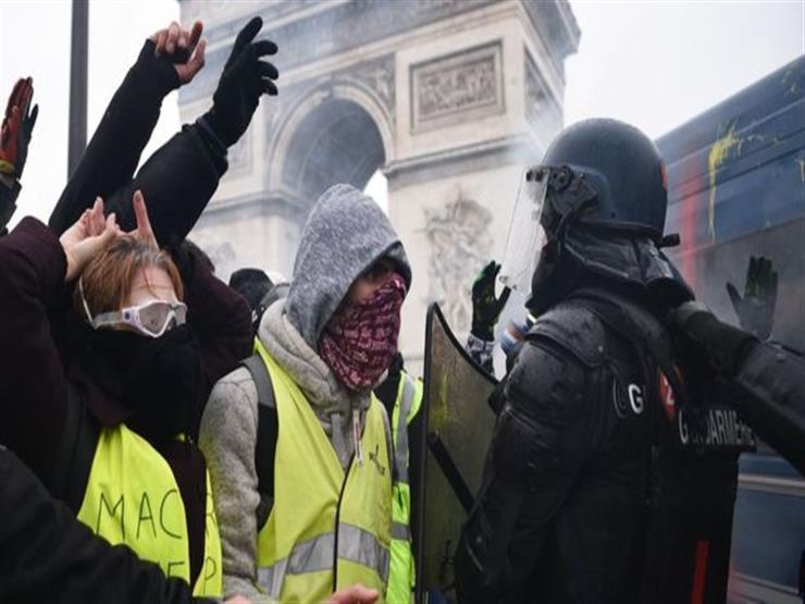 """فرنسا تستعد اليوم لاحتجاجات """"السترات الصفراء"""" فيما تعتزم الحكومة التصدي بحزم للمتظاهرين"""
