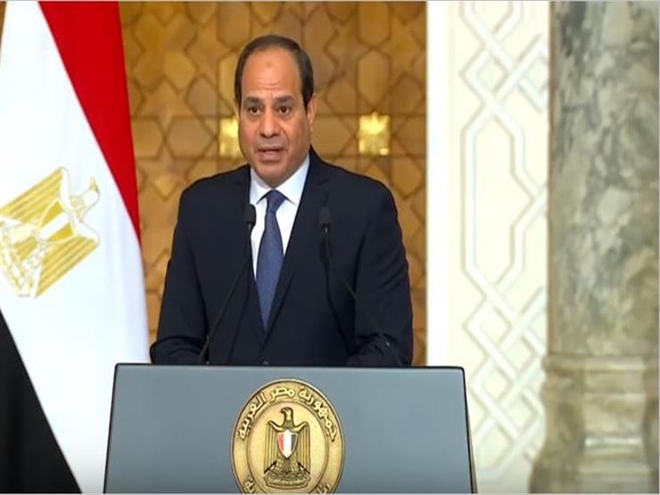 بعد قليل.. مؤتمر صحفي بين السيسي ورئيس وزراء العراق