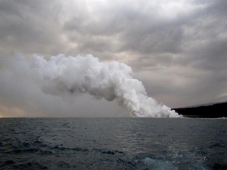 ما هو حجم ثاني أكسيد الكربون الذي يختفي في البحار؟