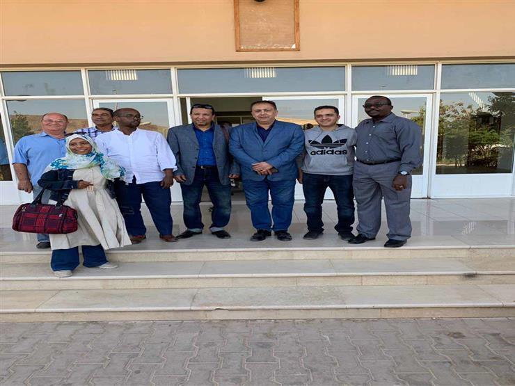 وصول قافلة جامعة أسوان الطبية إلى جيبوتي