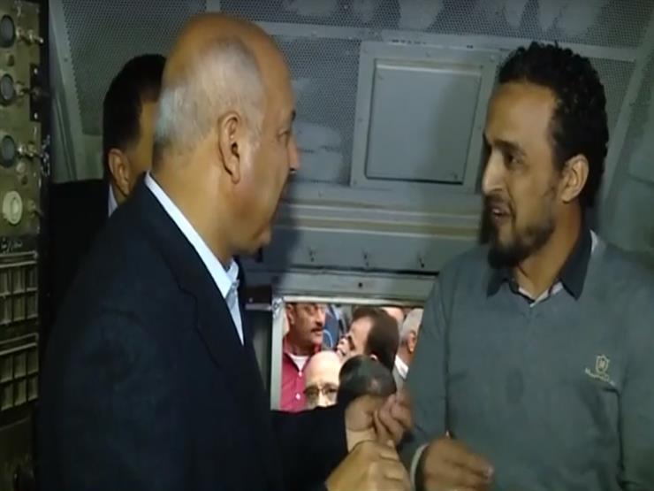 أديب يعرض تقريرًا مصورًا عن جولات وزير النقل بمحطتَي رمسيس والجيزة