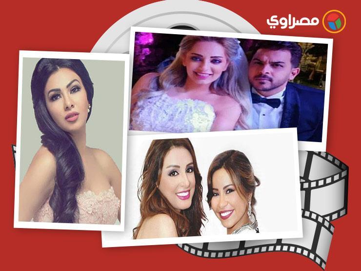 النشرة الفنية| زفاف رشاد ومي ودفاع أنغام عن شيرين وحقيقة زواج لطيفة
