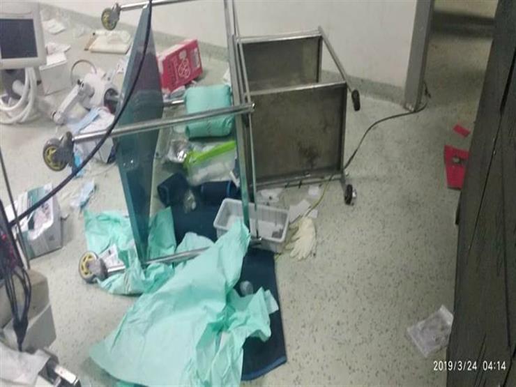 """""""تأمين وتشريعات"""".. 7 مطالب لـ""""الأطباء"""" بعد الاعتداء على معهد القلب"""
