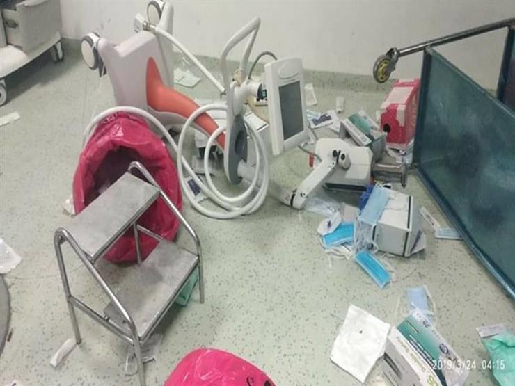 """""""كسروا كل حاجة"""".. مدير معهد القلب يكشف تفاصيل تحطيم غرفة القسطرة"""