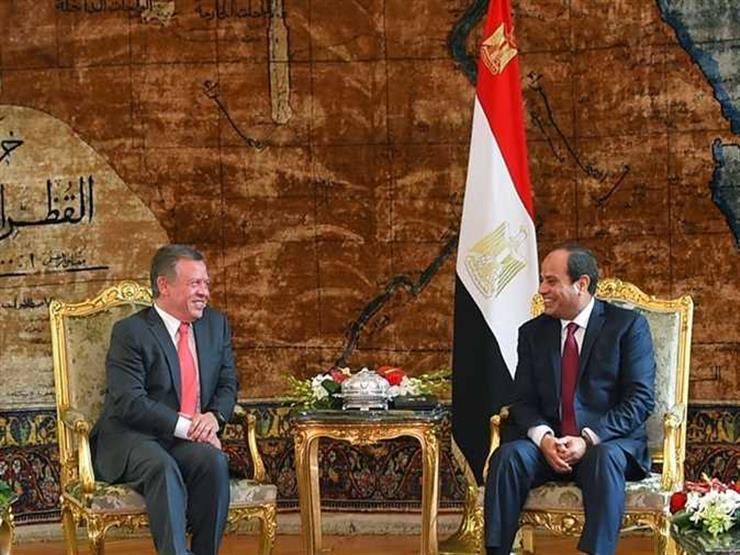 السيسي يبحث مع ملك الأردن الأوضاع الإقليمية وسبل التعامل مع الأزمات