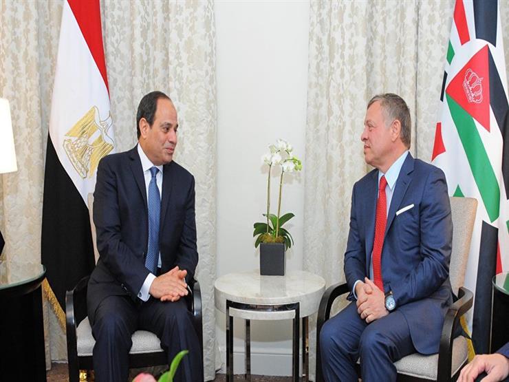 مباحثات بين السيسي وملك الأردن ورئيس وزراء العراق.. اليوم