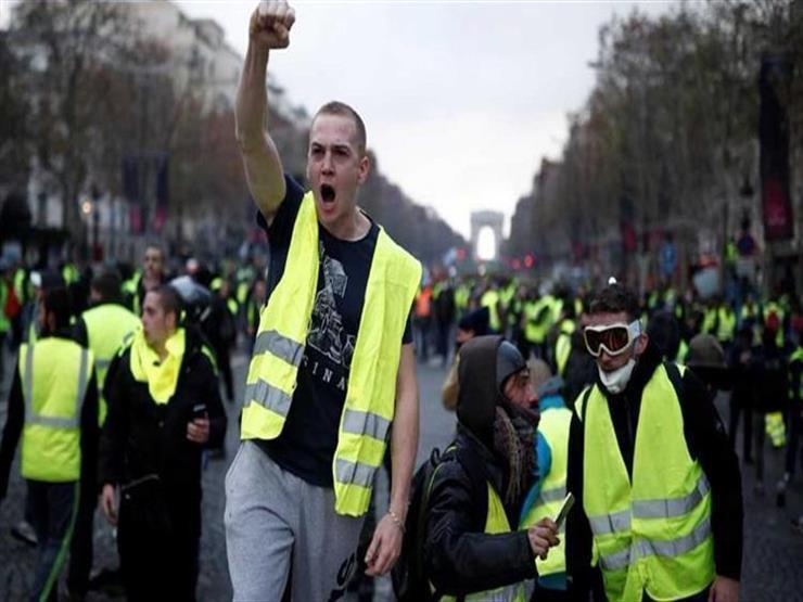"""مظاهرات جديدة لـ""""السترات الصفراء"""" في باريس ومدن فرنسية أخرى"""