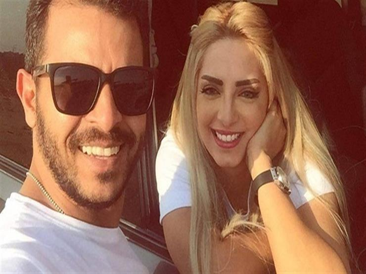 فيديو| محمد رشاد وزوجته في نزهة أمام الشلالات