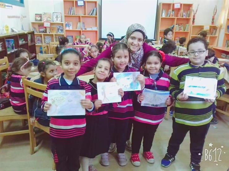 """""""اقرأ مع زينب"""".. الكتب للأطفال في طنطا """"مش كلام على ورق"""""""