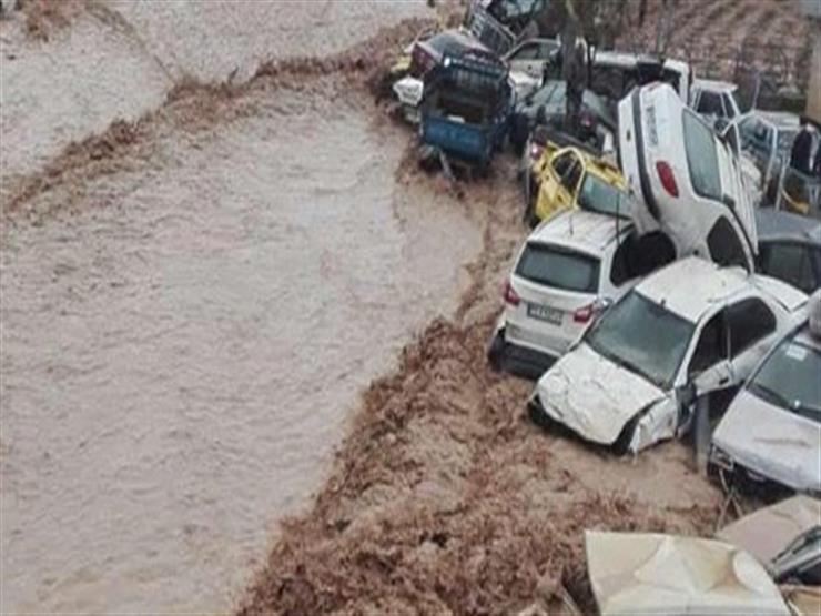 مصرع وإصابة 85 شخصًا في سيول جنوب إيران